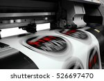 large printer format inkjet... | Shutterstock . vector #526697470