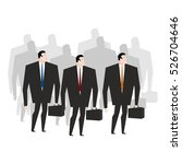 business team. crowd managers....   Shutterstock .eps vector #526704646