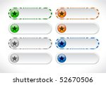 buttons for web | Shutterstock .eps vector #52670506
