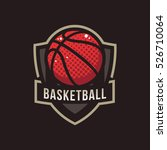 basketball logo  american logo... | Shutterstock .eps vector #526710064