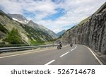 Motorcyclists  Ride In The...