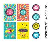 sale website banner templates.... | Shutterstock . vector #526714804