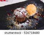 Chocolate Cupcake With Ice...