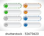 buttons for web | Shutterstock .eps vector #52673623