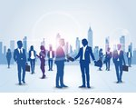 business people group... | Shutterstock .eps vector #526740874