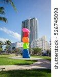 Usa  Florida  Miami Beach ...