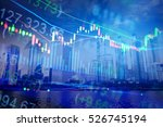 various type of financial and... | Shutterstock . vector #526745194