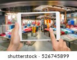 augmented reality marketing... | Shutterstock . vector #526745899
