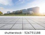 empty floor with modern... | Shutterstock . vector #526751188