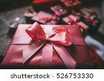 holidays christmas  birthday ... | Shutterstock . vector #526753330