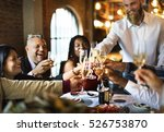 restaurant chilling out classy... | Shutterstock . vector #526753870