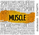 Muscle Word Cloud Collage ...