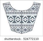 embroidery for fashion | Shutterstock .eps vector #526772110