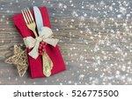 christmas concept   festive... | Shutterstock . vector #526775500