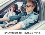 family into the car | Shutterstock . vector #526787446