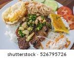 closeup of vietnamese food ...   Shutterstock . vector #526795726