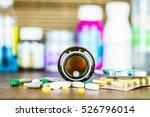 drug prescription for treatment ... | Shutterstock . vector #526796014
