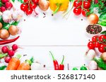 beautiful background healthy... | Shutterstock . vector #526817140