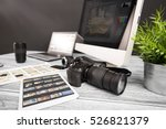 photographer photographic... | Shutterstock . vector #526821379