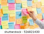 brainstorming brainstorm... | Shutterstock . vector #526821430