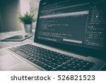 developer development web code... | Shutterstock . vector #526821523