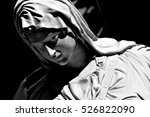 Sculpture Of Mother Mary At...