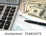 financial irs individual tax... | Shutterstock . vector #526824373