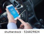 online survey concept on screen | Shutterstock . vector #526829824