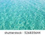 turquoise water background...   Shutterstock . vector #526835644