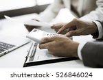business adviser analyzing