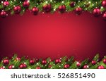 new year pink background with... | Shutterstock .eps vector #526851490