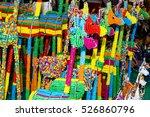 pretty beaded giraffs | Shutterstock . vector #526860796