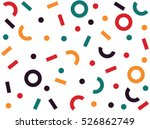 retro abstract pattern in...