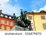 Statue Of Sankt Goran And The...