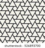 abstract geometry black and... | Shutterstock .eps vector #526893700