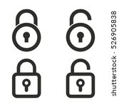 Lock Vector Icons Set....
