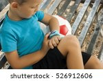child with smartwatch | Shutterstock . vector #526912606