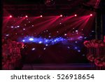 the stage lighting effect in... | Shutterstock . vector #526918654