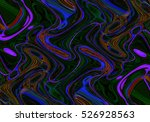 colorful psychedelic background ... | Shutterstock . vector #526928563