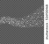 white glittering star dust... | Shutterstock .eps vector #526930468