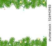 seamless horizontal borders... | Shutterstock .eps vector #526943983