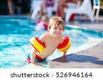 happy little kid boy having fun ... | Shutterstock . vector #526946164