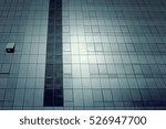 Black Skyscraper In Urban City...