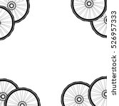 bicycle wheel  bike wheels... | Shutterstock . vector #526957333