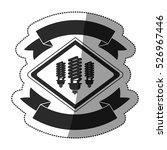 isolated plug design | Shutterstock .eps vector #526967446