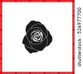 rose vector illustration eps10. | Shutterstock .eps vector #526977700
