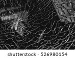 abstract background of cracked... | Shutterstock . vector #526980154