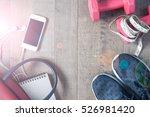 healthy lifestyle concept  diet ... | Shutterstock . vector #526981420