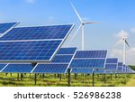 Photovoltaics And Wind Turbine...