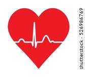 red medic blood pressure vector ... | Shutterstock .eps vector #526986769
